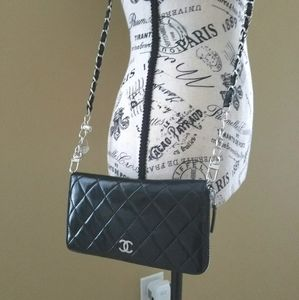 Chanel Quilted Zippy Woc Crossbody